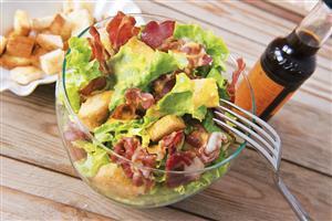 Ceasar Salad Aurora's style